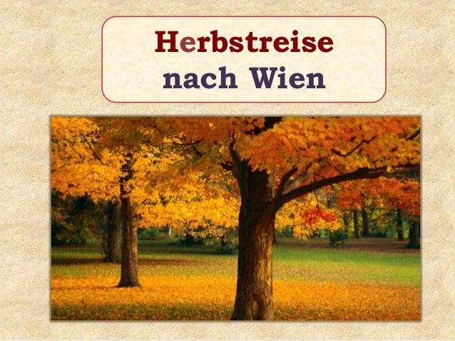 Herbstreise nach Wien
