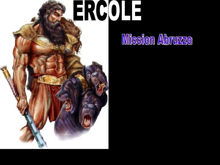 ERC OLE Mission Abruzzo