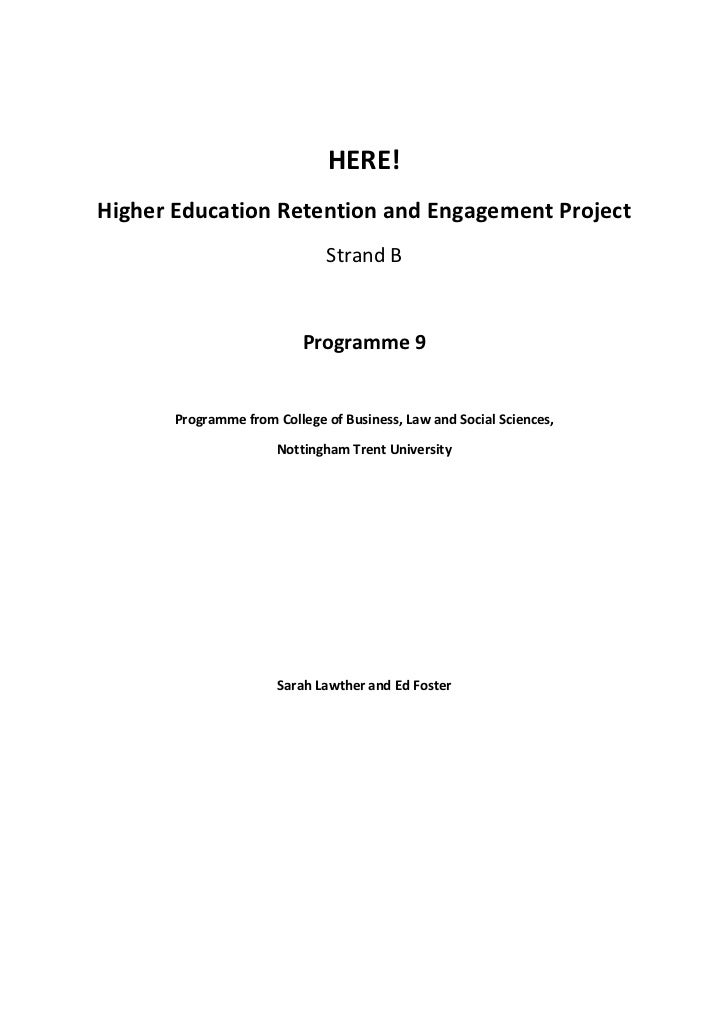 HERE! Project Case Study 9