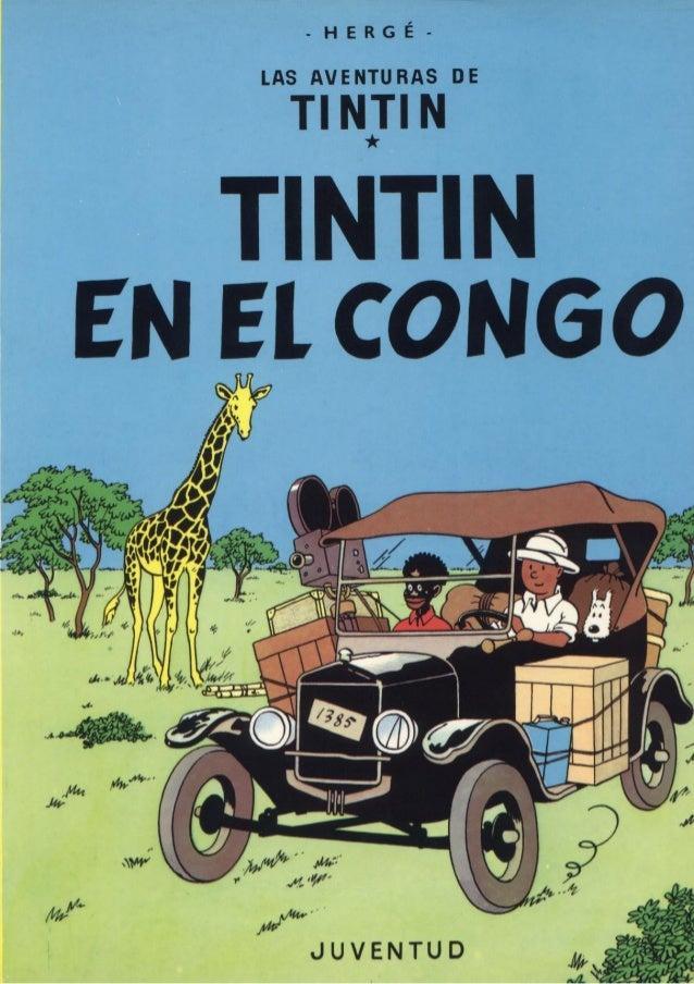 -HERGÉ-  LAS AVENTU RAS DE  TI N]!  N  TINTIN EN El CONGO  1 A 7