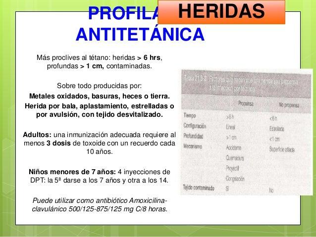 Amoxicilina dosis niños 3 años