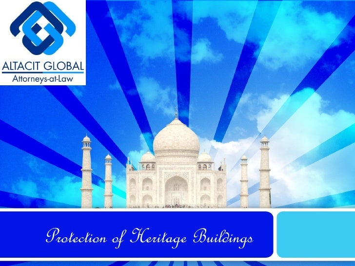 Protection of Heritage Buildings