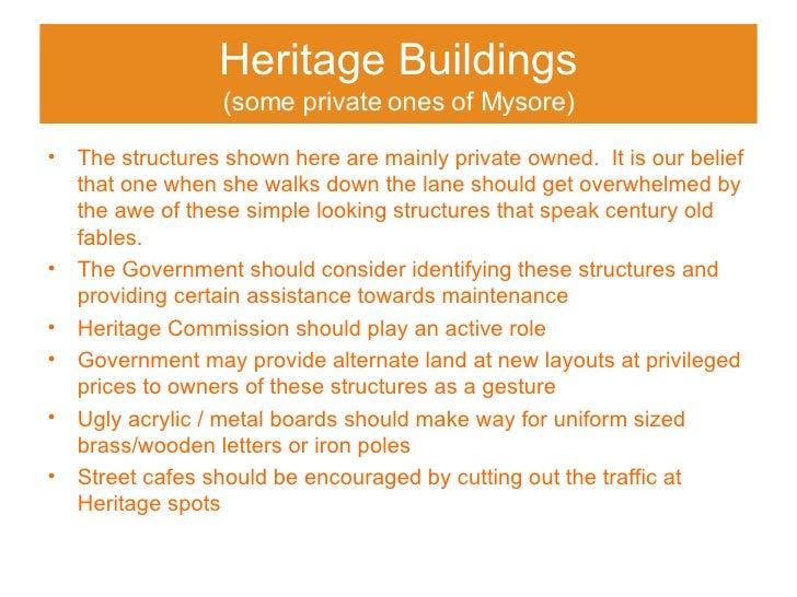 Heritage Blgds