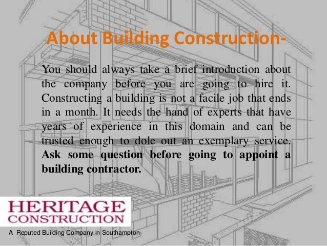 Ask Some Important Questions To Home Builder Before New