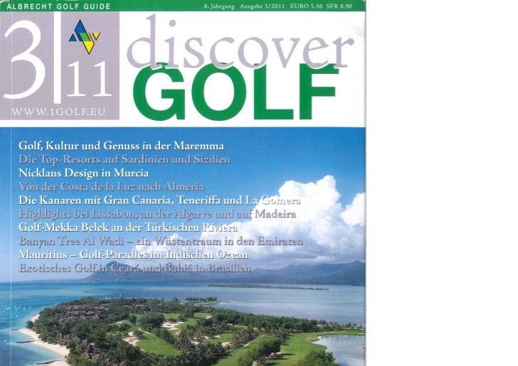 Heritage Golf Club Mauritius im Discover Golf 2011