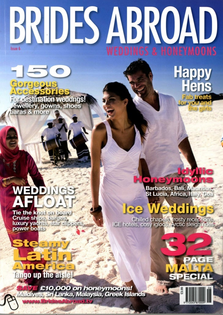 Heritage the villas and heritage le telfair in Brides abroad, march 2012