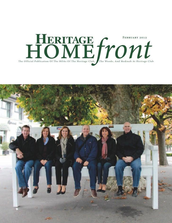homefront                                                                                                  Feb ruary 201 2...