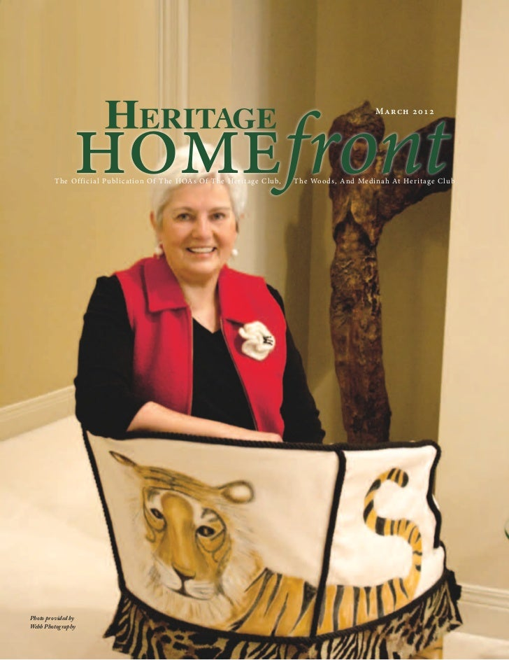 Heritage Club Homefront Magazine