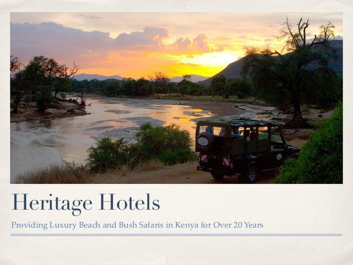 Heritage Hotels Detailed - Keynote