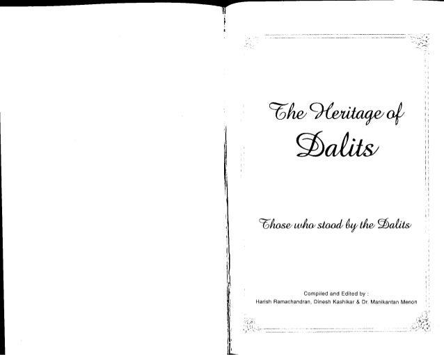 Heritage of Dalits
