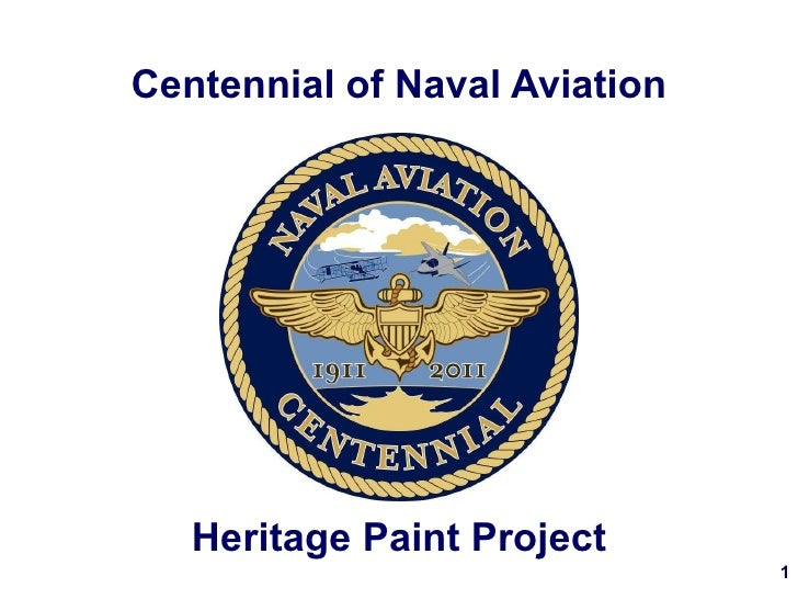 Centennial of Naval Aviation Heritage Paint Project