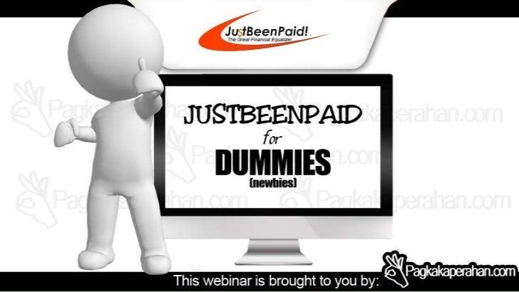 Justbeenpaid.com Presentation