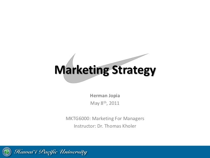 the marketing mix of nike Forecasting marketing-mix responsiveness for new products journal of marketing research, 47(3), pp444-457.