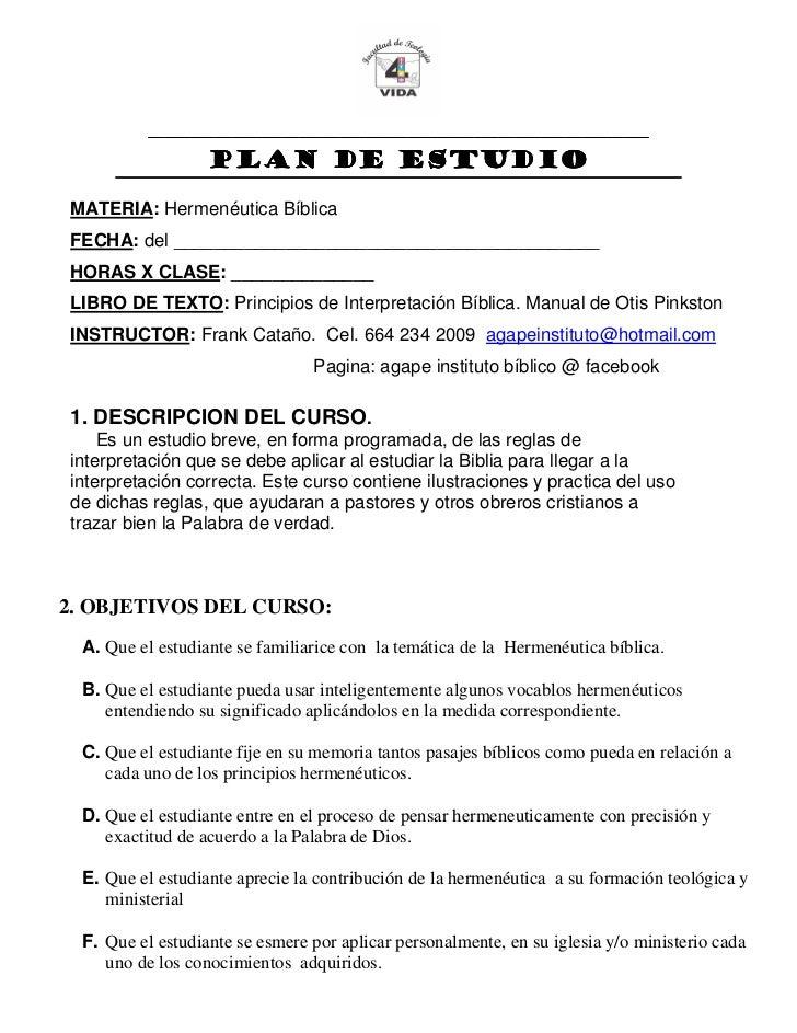 Hermeneutica plan de curso.doc