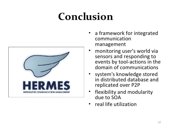 Database systems master thesis presentation