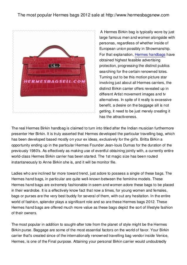 Hermes bags 2012 at hermesbagsnew.com