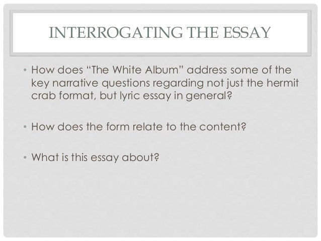 Essay bible topic