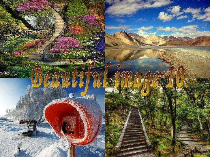Hermosa paz visual y espiritual