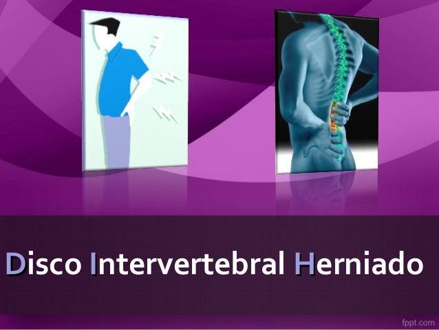 DDisco IIntervertebral HHerniado