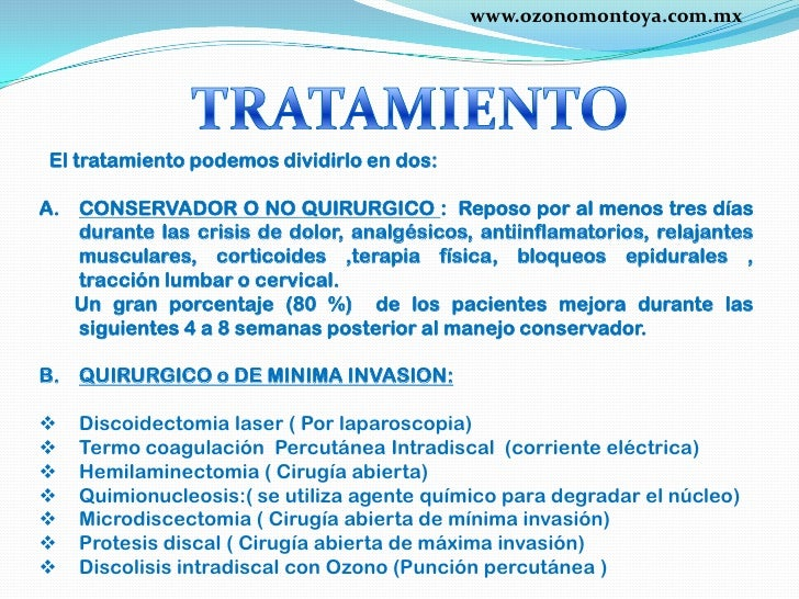 Hernia discal qu es c mo se opera for Silla oficina hernia discal