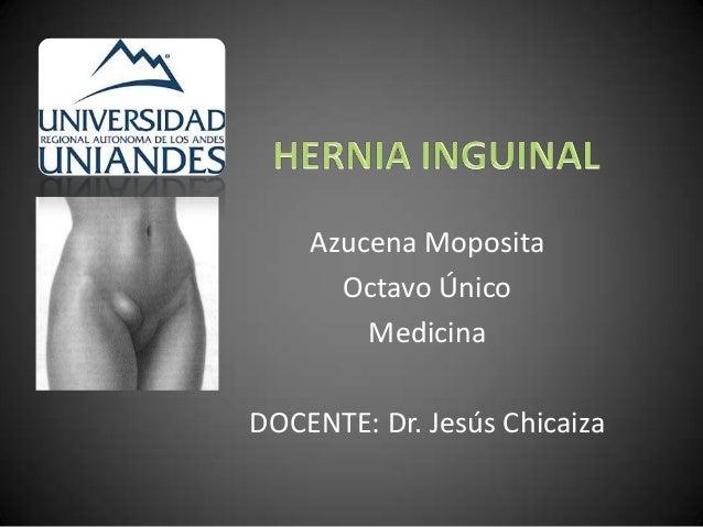 Azucena Moposita      Octavo Único        MedicinaDOCENTE: Dr. Jesús Chicaiza