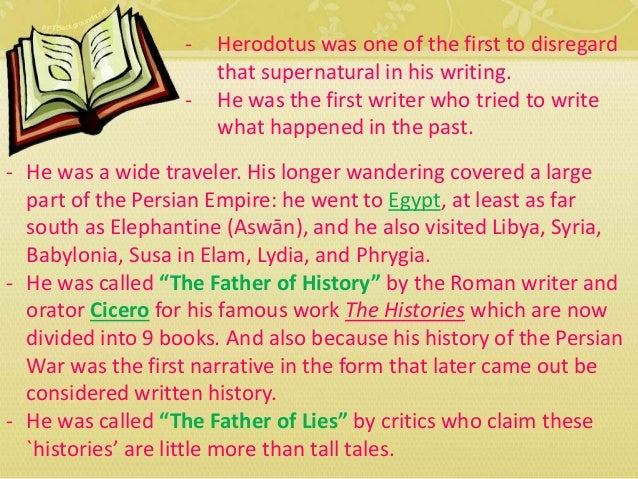 an essay on herodotus and the persian empire Herodotus' account of the rise and fall of the founder of the ancient persian empire,  essay to attacking herodotus  hungry goths: herodotus.