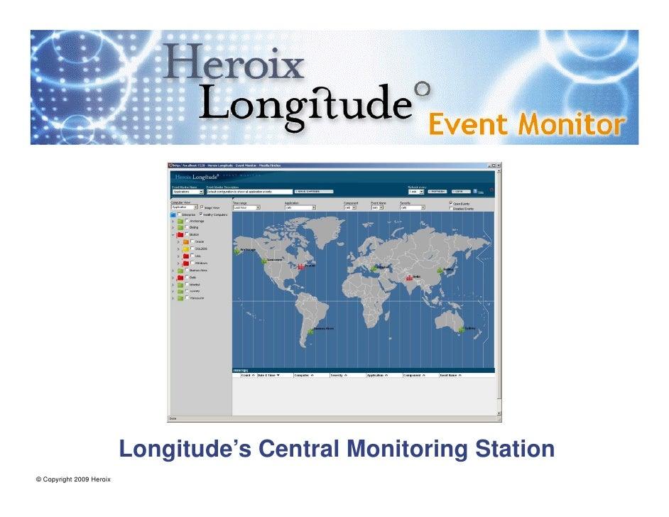 Heroix Longitude Event Monitor