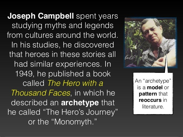 the concept of the monomyth in joseph campbells book the hero with a thousand faces Popular videos - joseph campbell & the hero with a thousand faces joseph campbell - topic joseph campbell's monomyth by richie janukowicz 4:32 play next the hero with the thousand faces by joseph campbell | book review | weblog27 by web log that we blog.