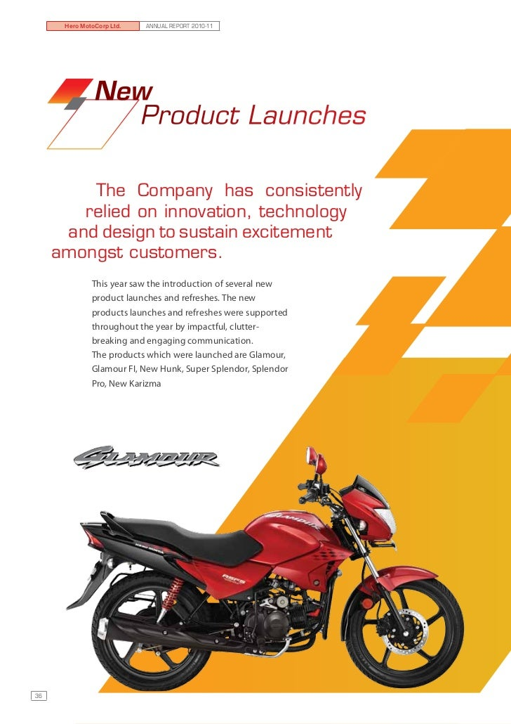 annual report of hero motocorp Get a detailed sensex annual report of hero motocorp on stock/share exchange market for the financial 2012 and more at moneycontrolcom.
