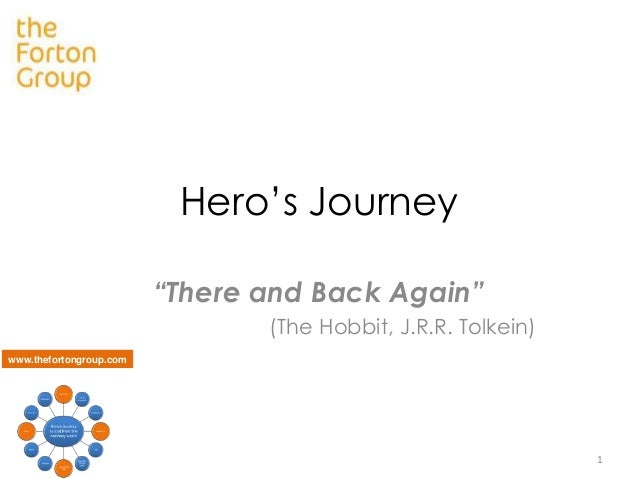 "Hero's Journey ""There and Back Again"" (The Hobbit, J.R.R. Tolkein) www.thefortongroup.com  1"