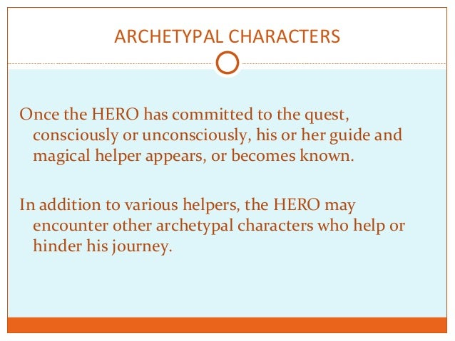 archetype essay question Free essays from bartleby | identities, the archetype meant to find meaning is transformed into a journey in which experience slowly shapes ignorance into.