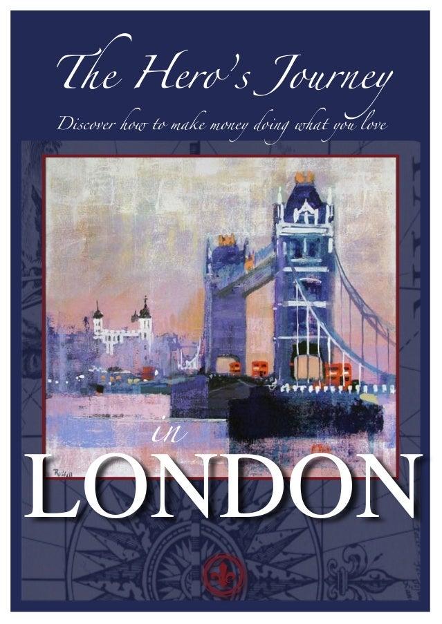 The Hero's Journey in London Flyer