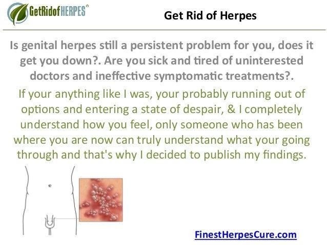 Genital herpes cure 2015