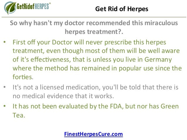 Cure for herpes 2015