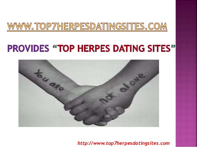 Dating if you have herpes