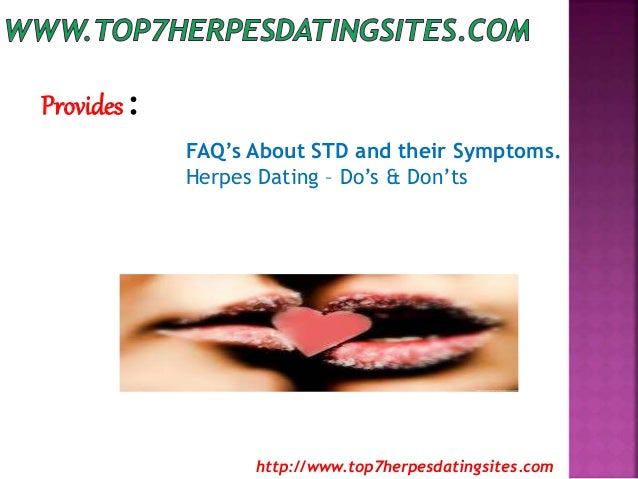 dating site for herpes sufferers