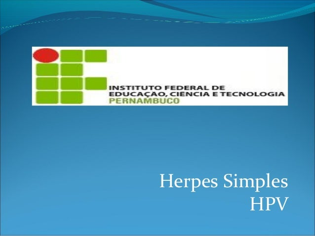 Herpes simples travbalho slide modificado