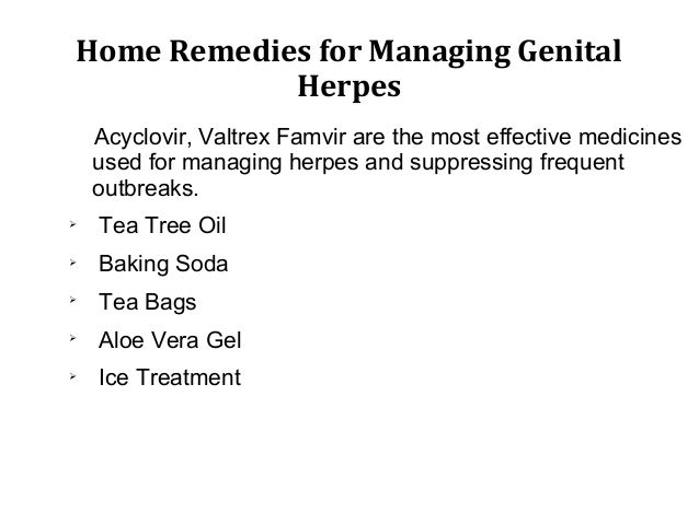 Herpes virus, symptoms and home remedies for managing ...