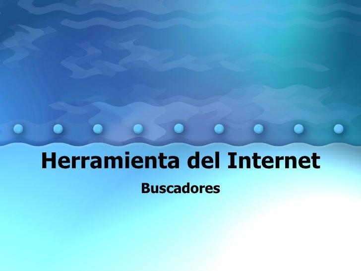 Herramienta Del Internet Buscadores