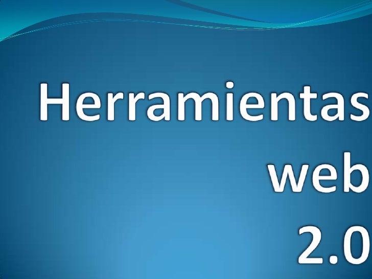 Herramientasweb2.0 <br />