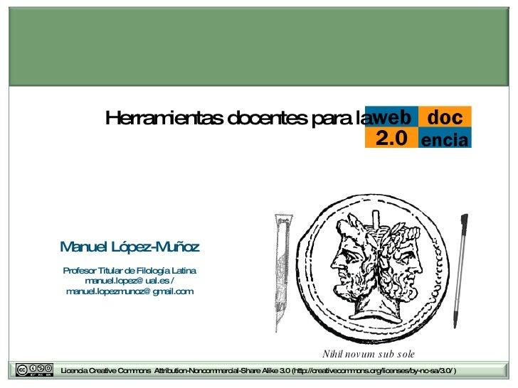 Herramientas Docentes Para La Web 20 1197293556891358 5