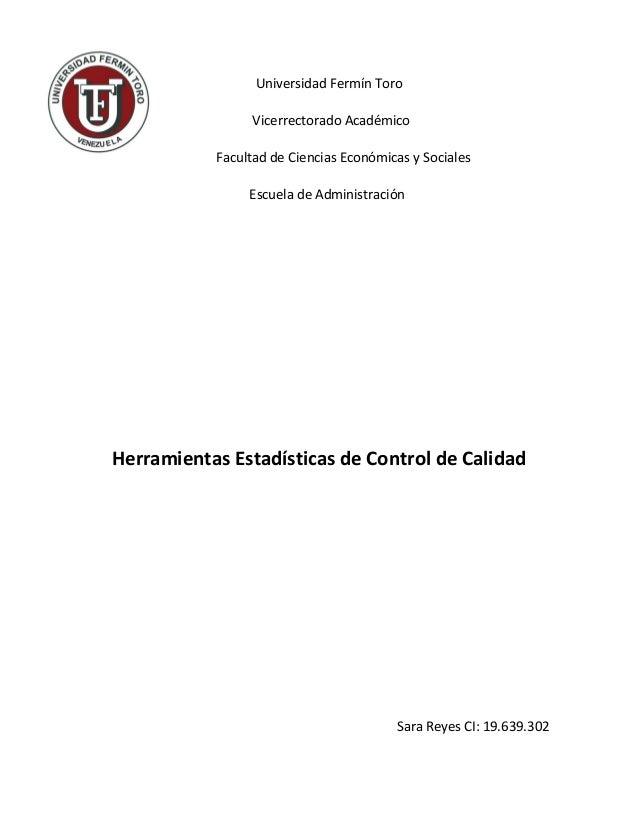 Universidad Fermín Toro                 Vicerrectorado Académico           Facultad de Ciencias Económicas y Sociales     ...