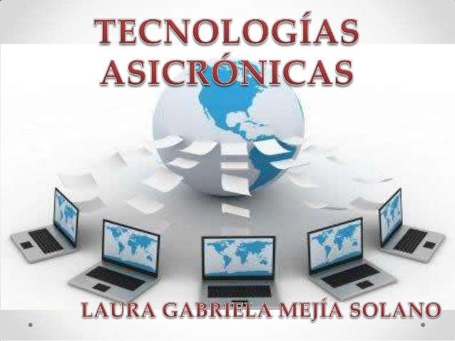 Las herramientas asincrónicas son herramientas que facilita el aprendizaje a través de los medios electrónicos . Entre las...
