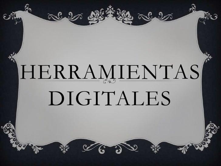 Herramientasdigitales<br />