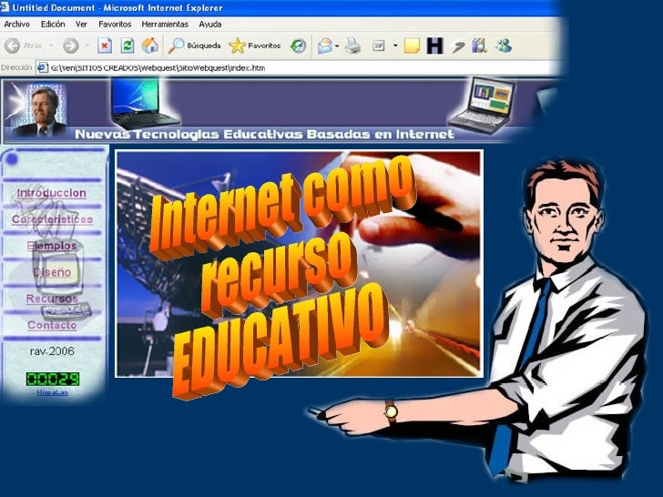Internet como recurso EDUCATIVO