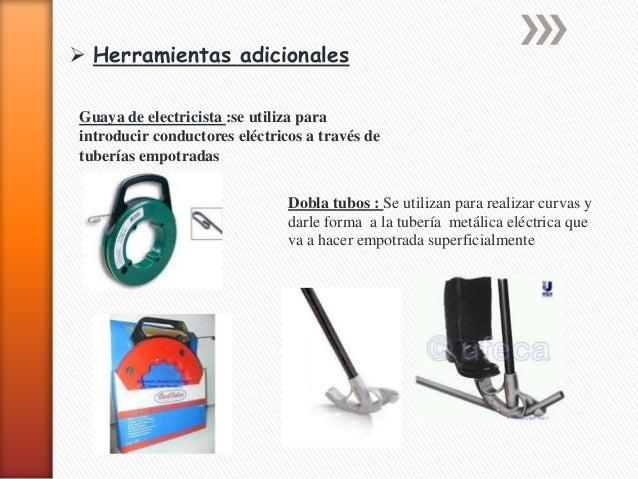 Herramientas utilizadas en mantenimiento electrico - Herramientas para desatascar tuberias ...