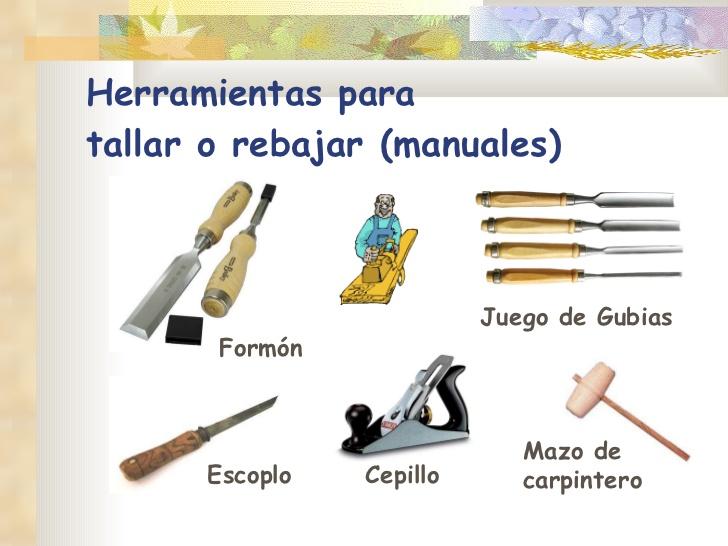 Herramienta tallar madera images - Herramientas de madera ...