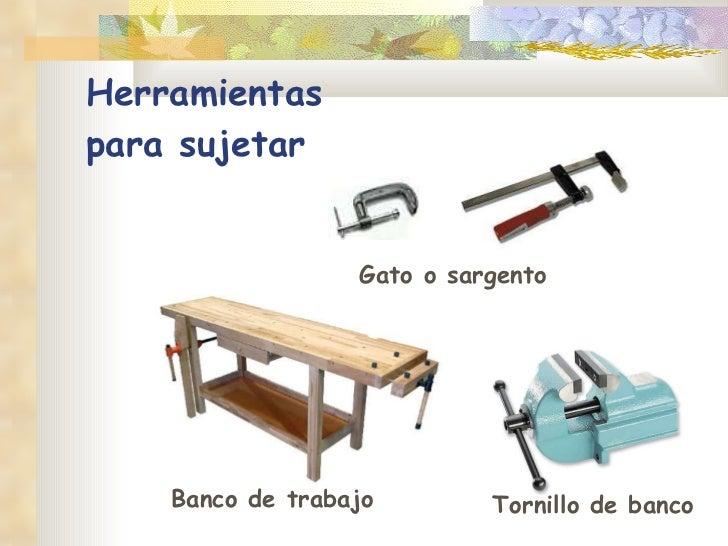 Herramientas para madera for Gato de carpintero