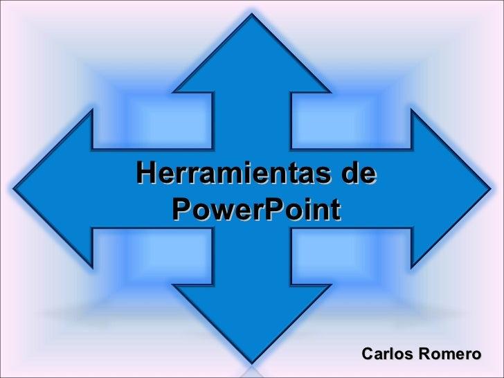 Herramientas power point