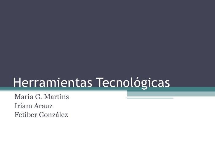 Asignación 6 - Herramientas tecnológicas